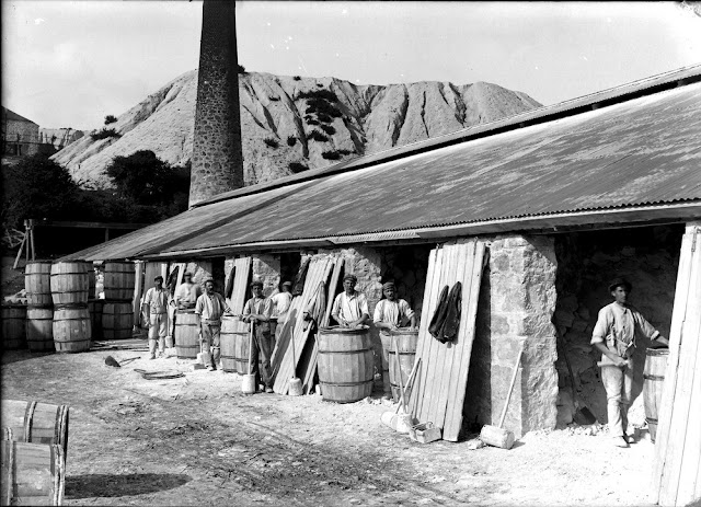 Boskell China-clay Works, St. Austell. 1905.