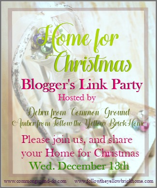 Home for Christmas Blogger's Link Party