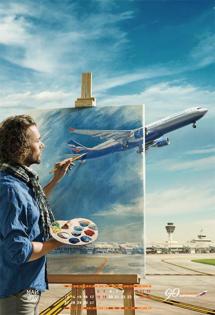 Aeroflot Kalender 2013 - bombastic airlines