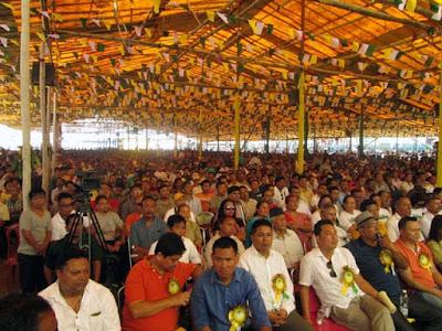 Gorkha Janmukti Yuva Morcha Jansabha in Mela ground kalimpong