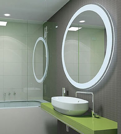 Espelhos de banheiro