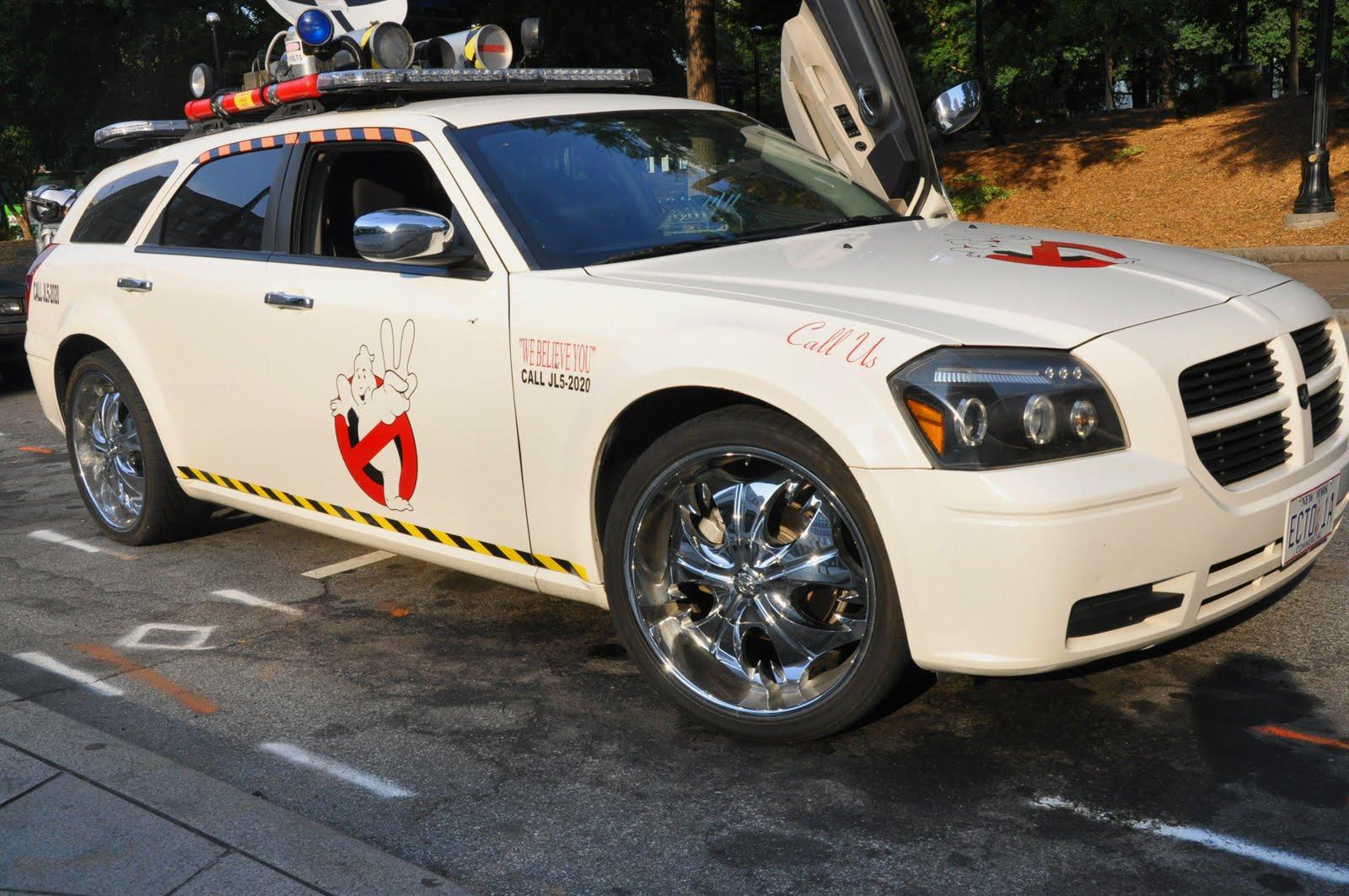 Ghostbusters 3 Car Magnum Arts: 8/1/11