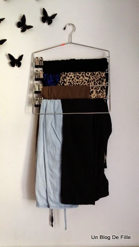 Un blog de fille mon dressing am nagement et rangement - Rangement pour foulard ...