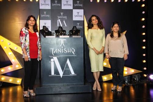 Kangana Ranaut at Tanishq IVA 2 Jewellery Collection Launch