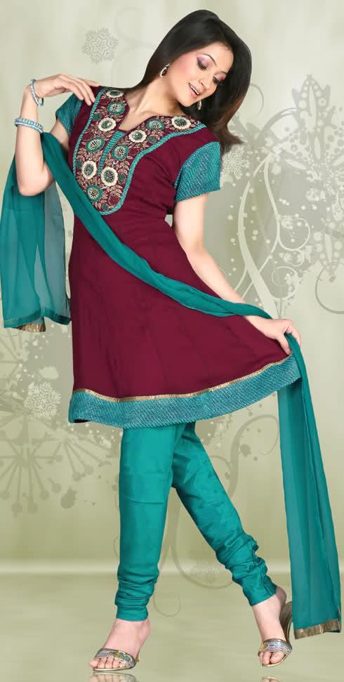 colorful Anarkali Frocks