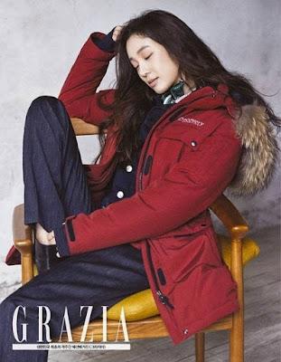 Jung Ryeo Won Grazia December 2015
