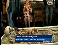 Descubren Cadaveres de Vampiros