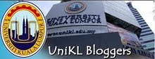 PROUD TO BE UniKL BLOGGER
