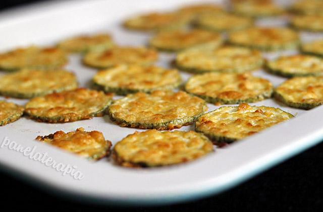 Chips de Abobrinha com Parmesão