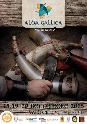 Locandina Alba Gallica 2015