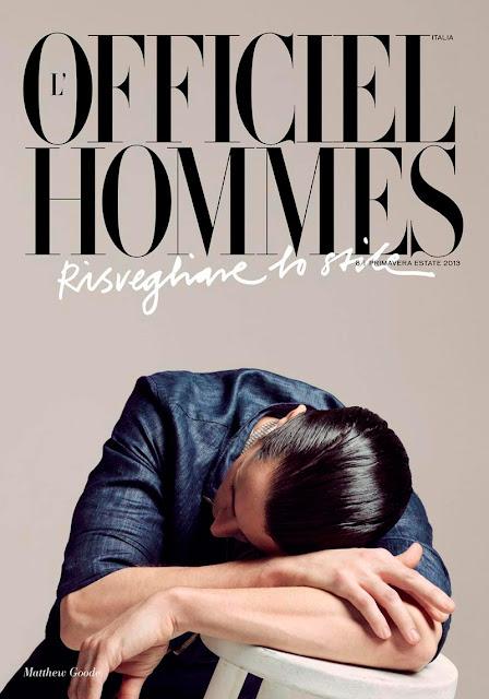 Matthew Goode L'Officiel Hommes Italia Spring 2013