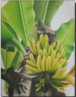 lukisan pohon pisang