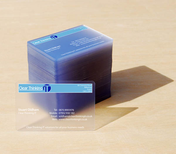 25 Transparent Business Card Examples