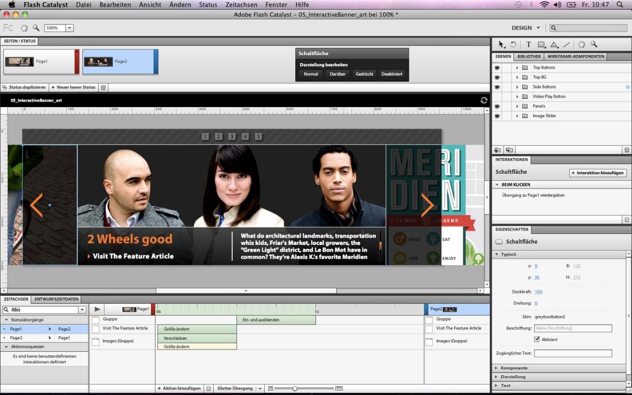 Adobe Creative Suite Web Premium screenshot
