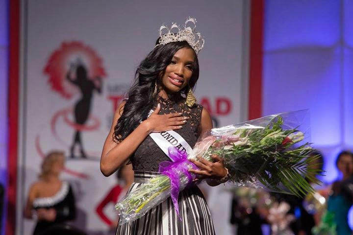 Miss Trinidad and Tobago 2014 winner Jevon Iola King