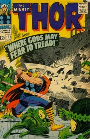 Thor #132 comic image