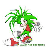 Manic Speeder The Hedgehog