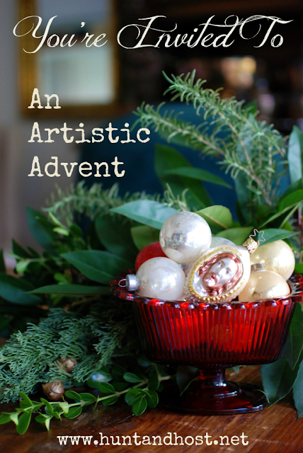Hunt & Host - The Greatest Gift advent series/book club/craft event