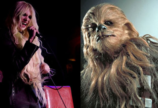Taylor Momsen Chewbacca