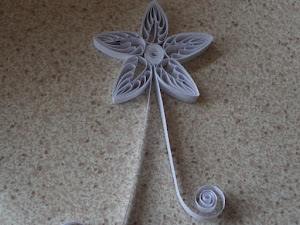 Quilling with recycled paper