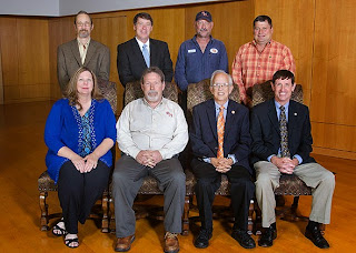 David Epps (standing, far left)is the IT manager at the College.