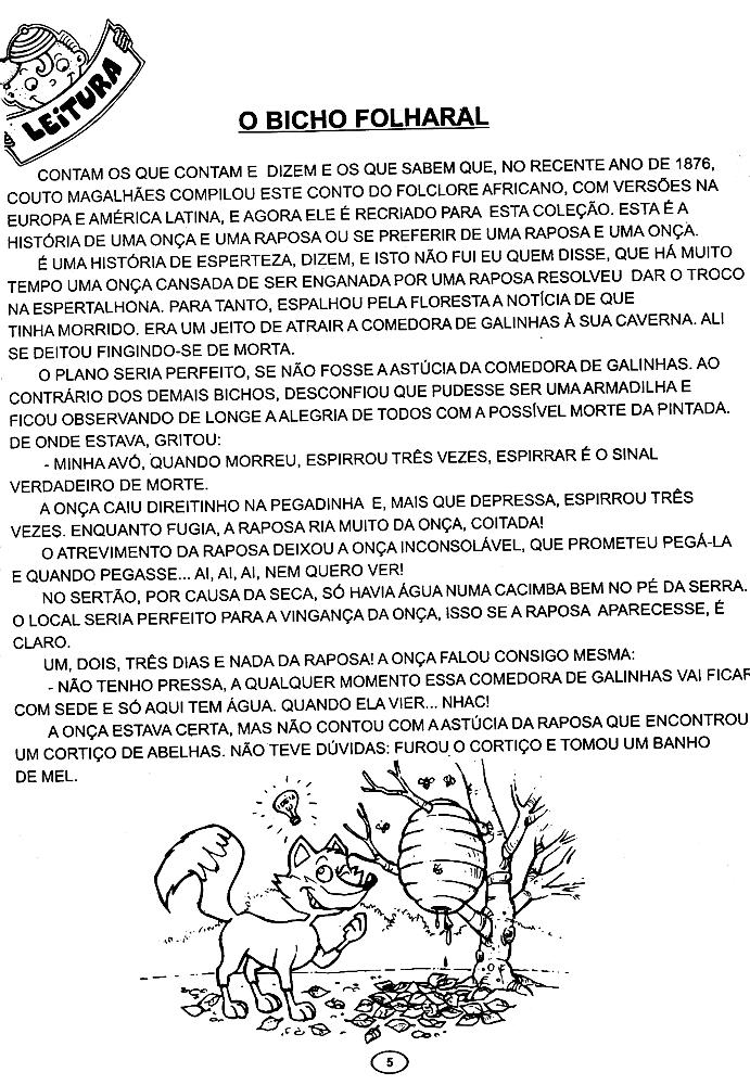120 ATIVIDADES HISTÓRIAS INFANTIS CONTOS FÁBULAS LENDAS EXERCÍCIOS ...