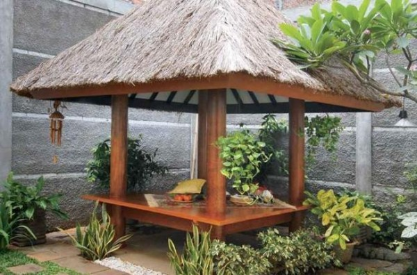 Galerry desain gazebo taman belakang