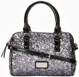 Nine West Geo Sequins Top Handle Bag