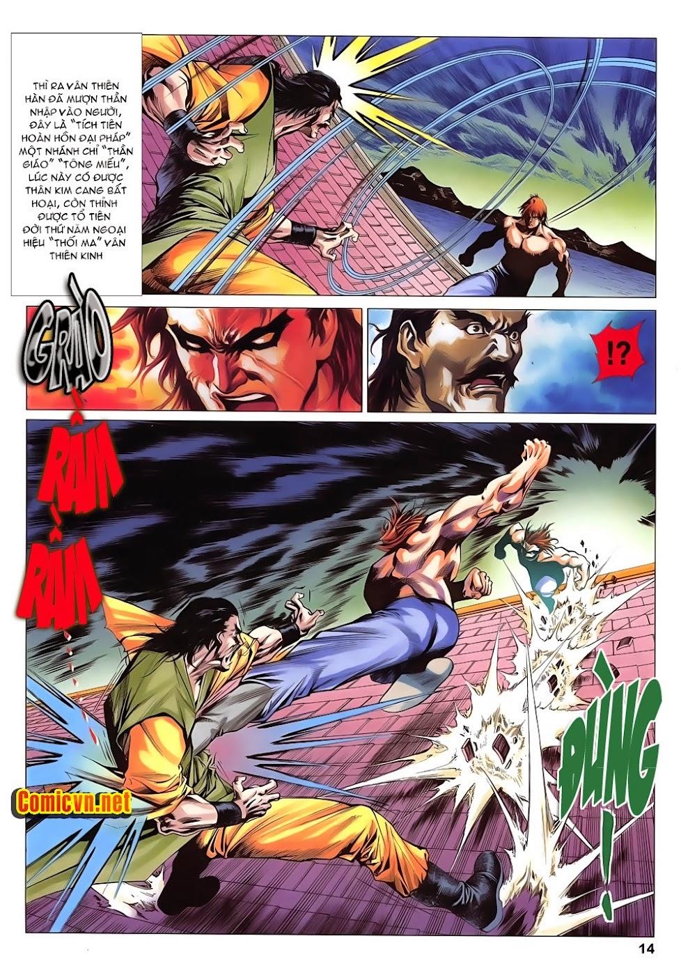 Lục Đạo Thiên Thư chap 14 - Trang 14