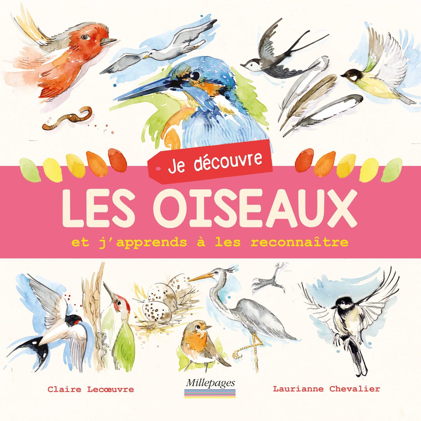 Je découvre les oiseaux (texte Claire Lecœuvre), mai 2018