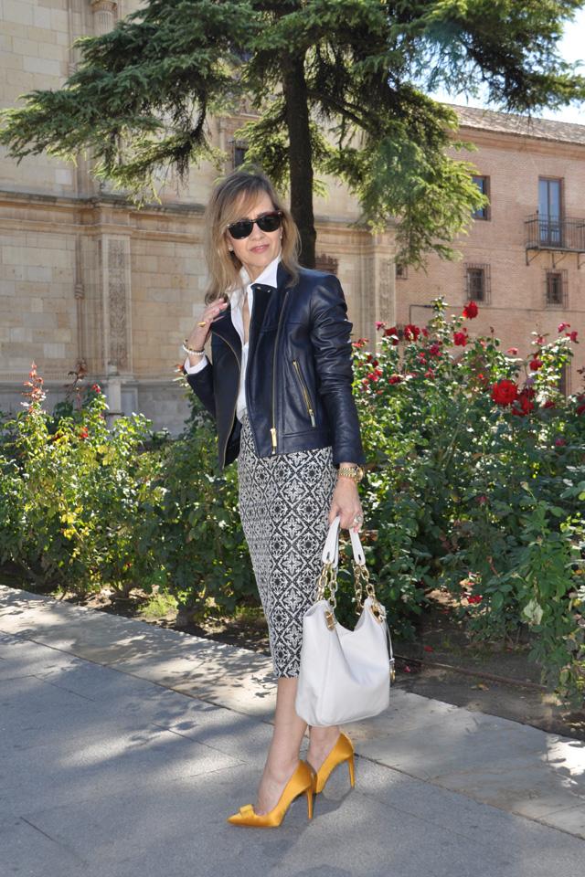 fall trends como llevar perfecto cuero falda tubo