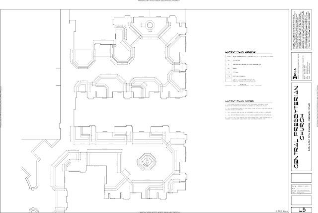 landscape architecture  construction documents in process