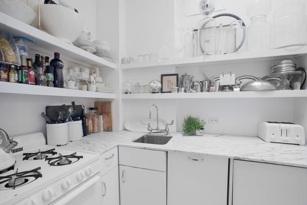 Un atico shabby chic shabby chic penthouse for Cocinas shabby chic