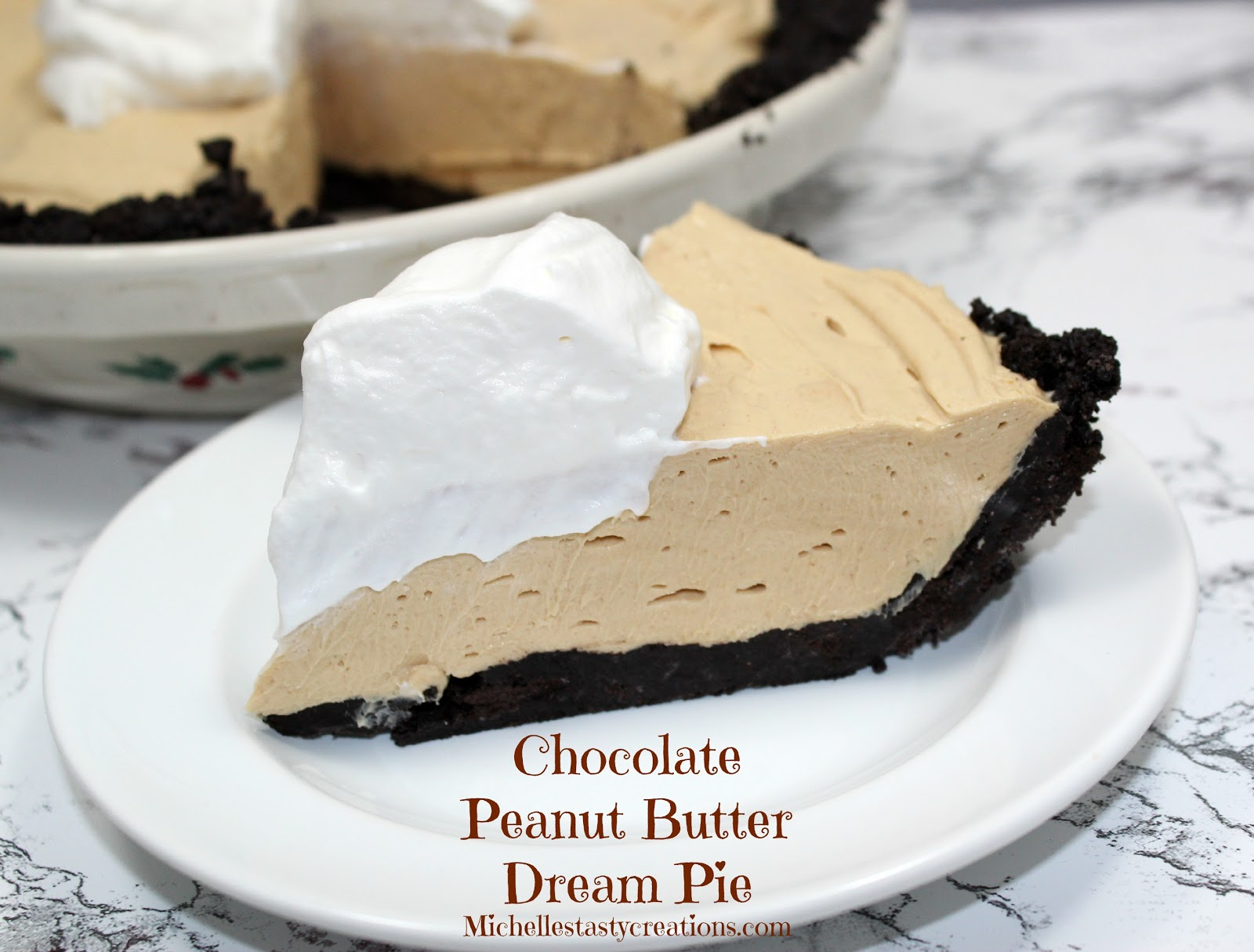 Chocolate-Peanut Butter Pie Recipe — Dishmaps