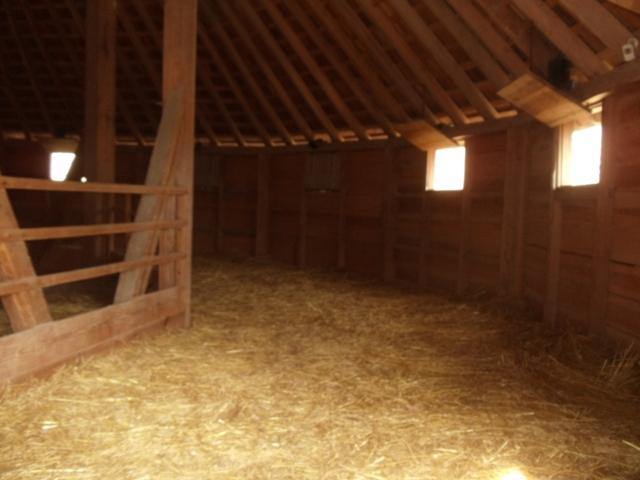 Interior of the Treading Barn