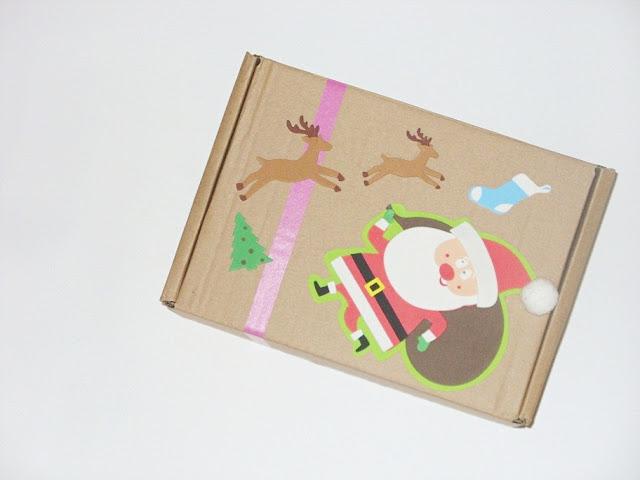 Mikołajkowy box by Hello Kitty :)