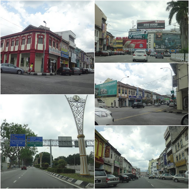 More pictures of many historical shops and buildings in The Old Town of Ipoh, Perak, Malaysia