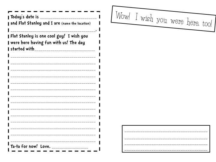 stellar 2nd grade sweethearts  flat stanley u0026 39 s travel journal
