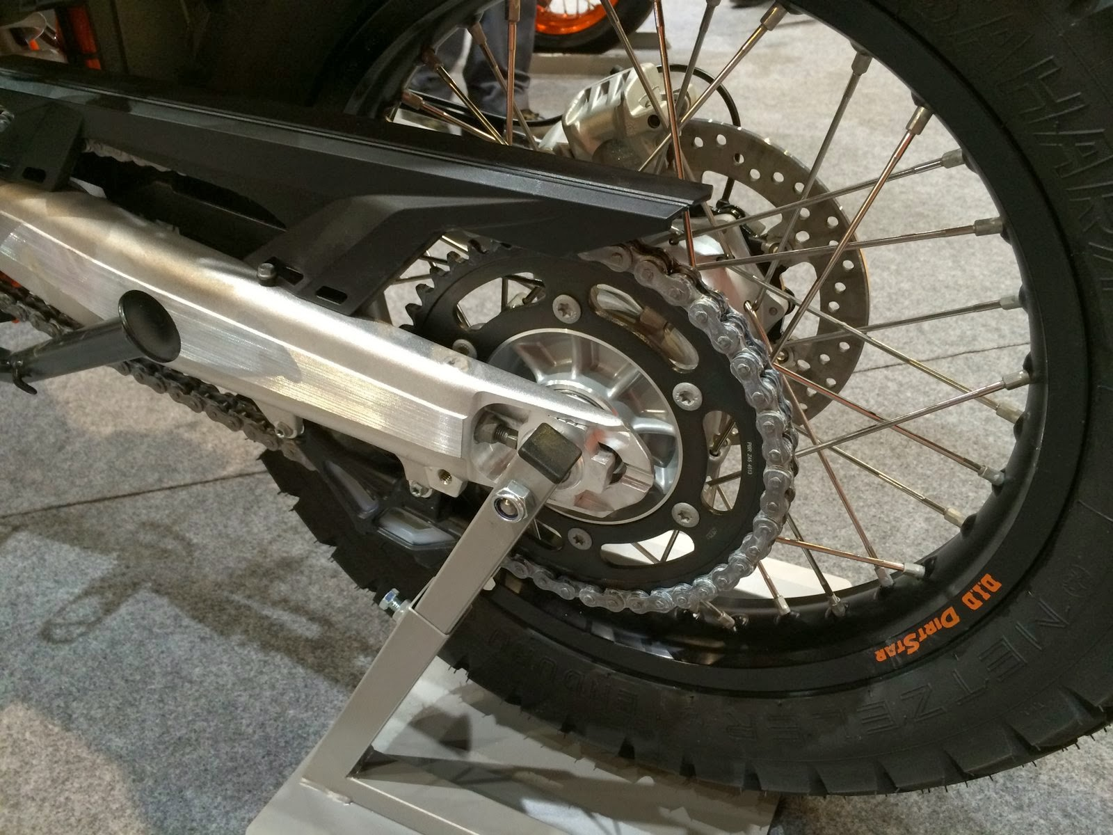 KTM 690 Enduro R 2014 rear sprocket