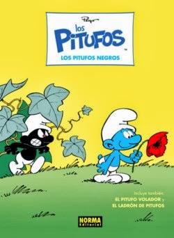 Los Pitufos Negros, de Peyo (Coleccion Los Pitufos nº1) [Reseña]