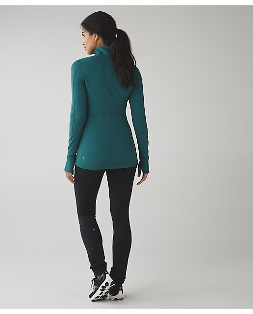 lululemon kanto-catch-me-half-zip forage-teal-wee-stripe