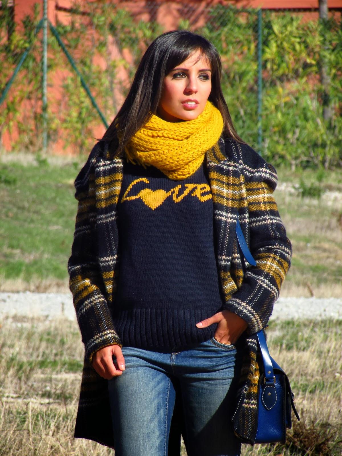 tartan cristina style fashion blogger malagueña inspiration tendencias moda blog look outfit ootd magazin malaga españa