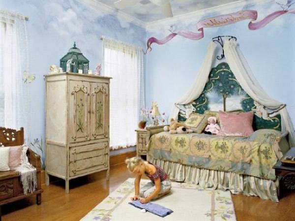 Lindos y divertidos dormitorios para ni as dormitorios for Cuartos de ninas lindos