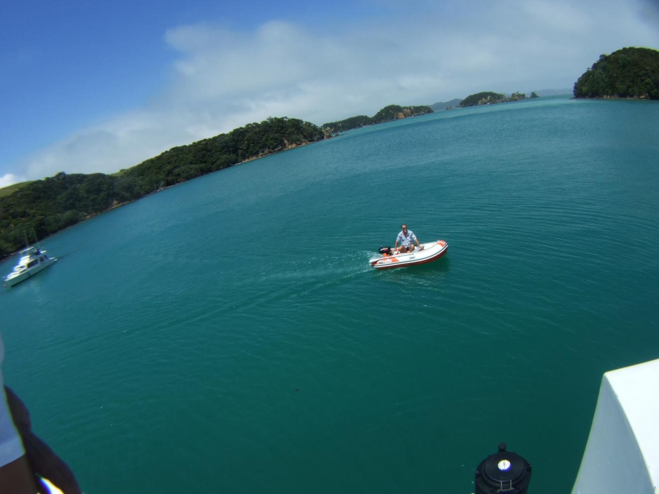 ボート,海,魚眼,パイヒア,NZ〈著作権フリー無料画像〉Free Stock Photos