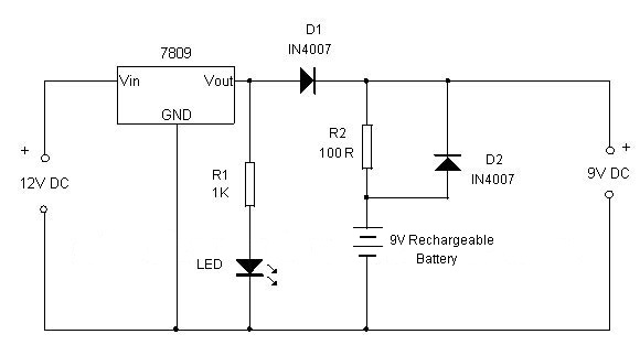 Nicad Battery Charger besides Auto Voltmeter Wiring Diagram also 12v To 5v 3a Dc Converter Step Down Regulator additionally The Main  lifier 50 Watt Ocl By Lf351 2n3055 Mj2955 With Pcb besides Circuit Regulated Power Supply With Lm317. on 3 volt dc power supply schematic