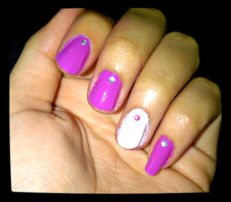 Nail Art 9 Simple Elegance Fashernably Late