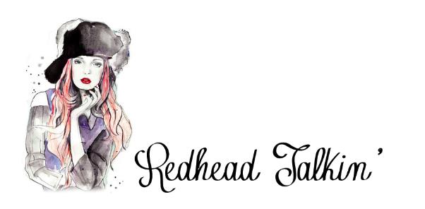 Redhead Talkin'