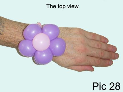 Balloon Animals Twisting Instructions Balloon Flower Bracelet