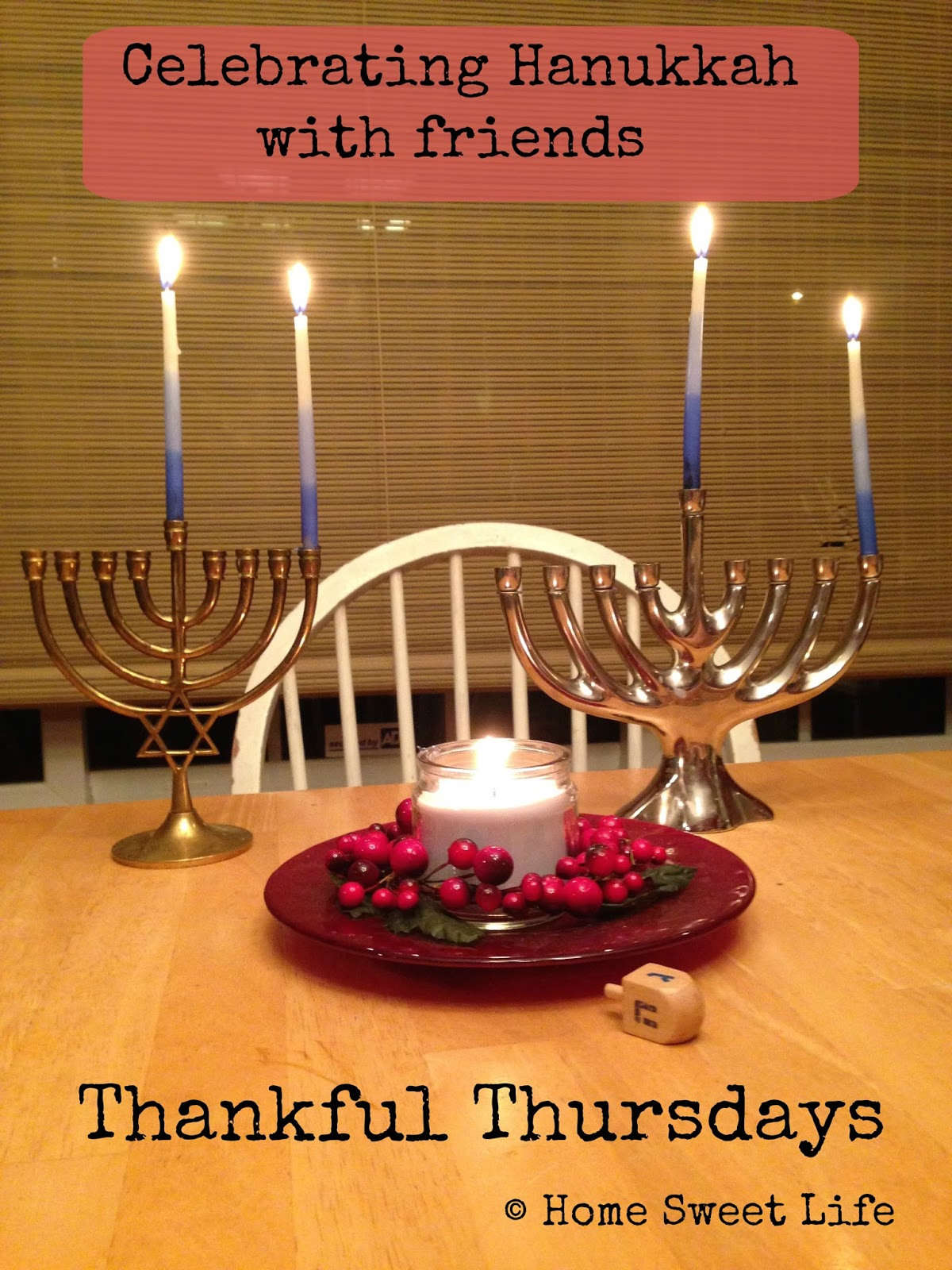Hanukkah blessings, rejoicing