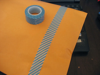 planner, school, organize, envelope, washi tape